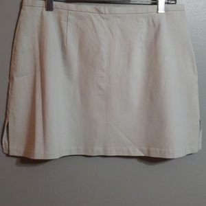 NWT Express Grey Skirt W/Thigh Slits Size 11/12